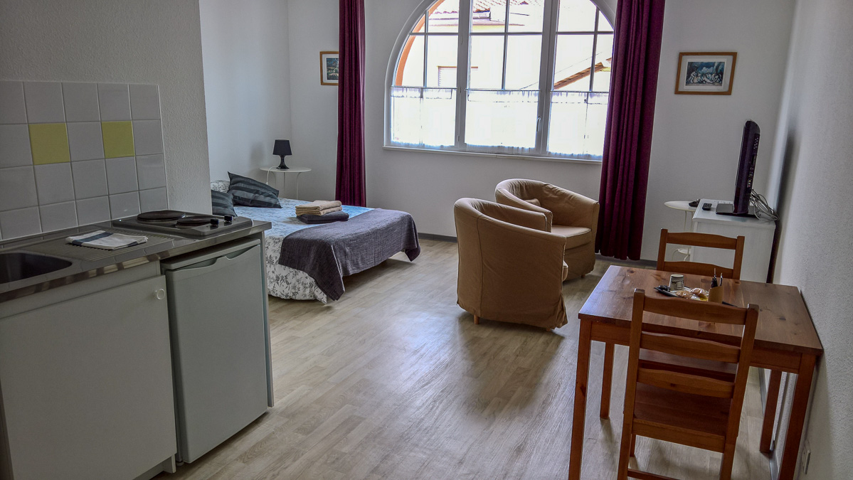 appartement studio 2 personnes